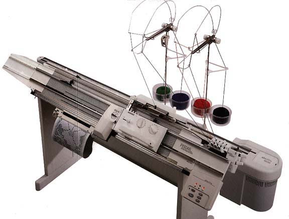 Passap Knitting Bulky Knitting Machine